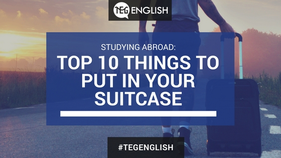 Top 10 things to put in your suitcase