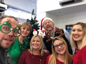 TEG Team wishing Merry Christmas